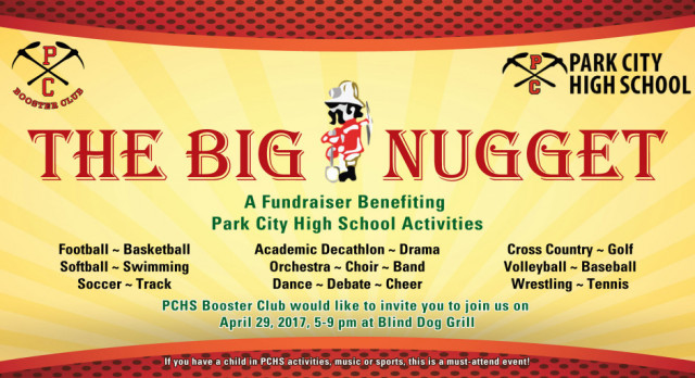 Booster Club to Host 2nd Annual Big Nugget Gala Fundraiser – Tickets @ https://www.ticketracker.com/store/item?catalogItemId=10911