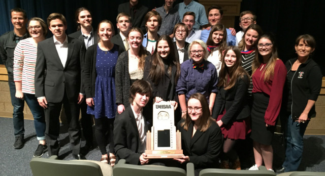 Miners Debate Wins 3A State Championship