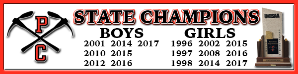 PCHS Swimming State Champs Banner
