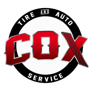 cox tire and auto logo