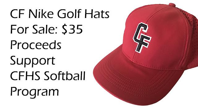 CFHS Softball Fundraiser – CF Nike Golf Hats for Sale