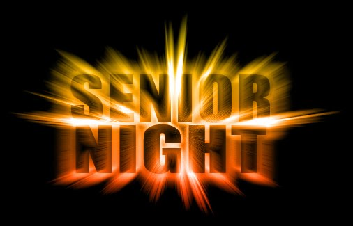Senior Football Night, October 20th