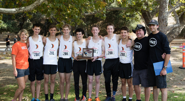 Boys Cross Country finishes 2nd at CCS