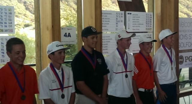 Blake Tomlinson, 4th in 4A State Golf Tournament