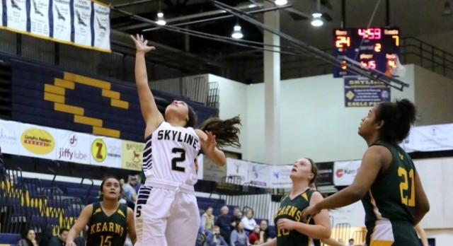 Skyline High School Girls Varsity Basketball beat Multiple Opponents 60-44