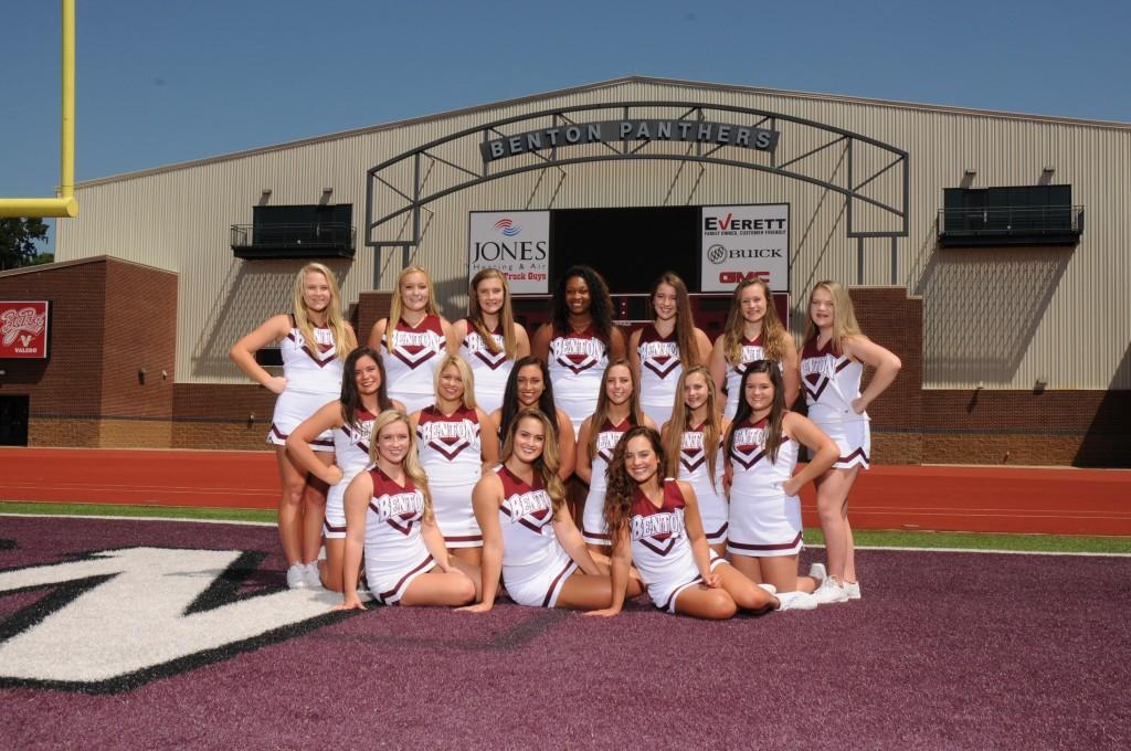 BHS 15-16 Cheer team