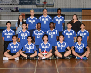 Boys Volleyball YB