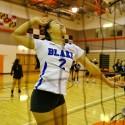 Varsity Girls Volleyball at Rockville, 10/12/15