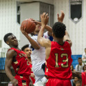 Varsity Boys Basketball vs. Wheaton, 12/9/16