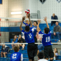 Boys Volleyball vs. Gaithersburg, 3/29/17