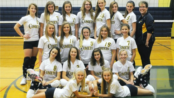 7th Grade Volleyball Team Pic
