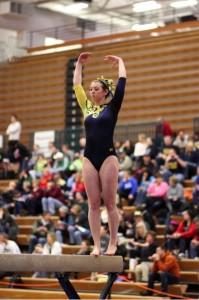 Gymnastics Regional Lauren Beam