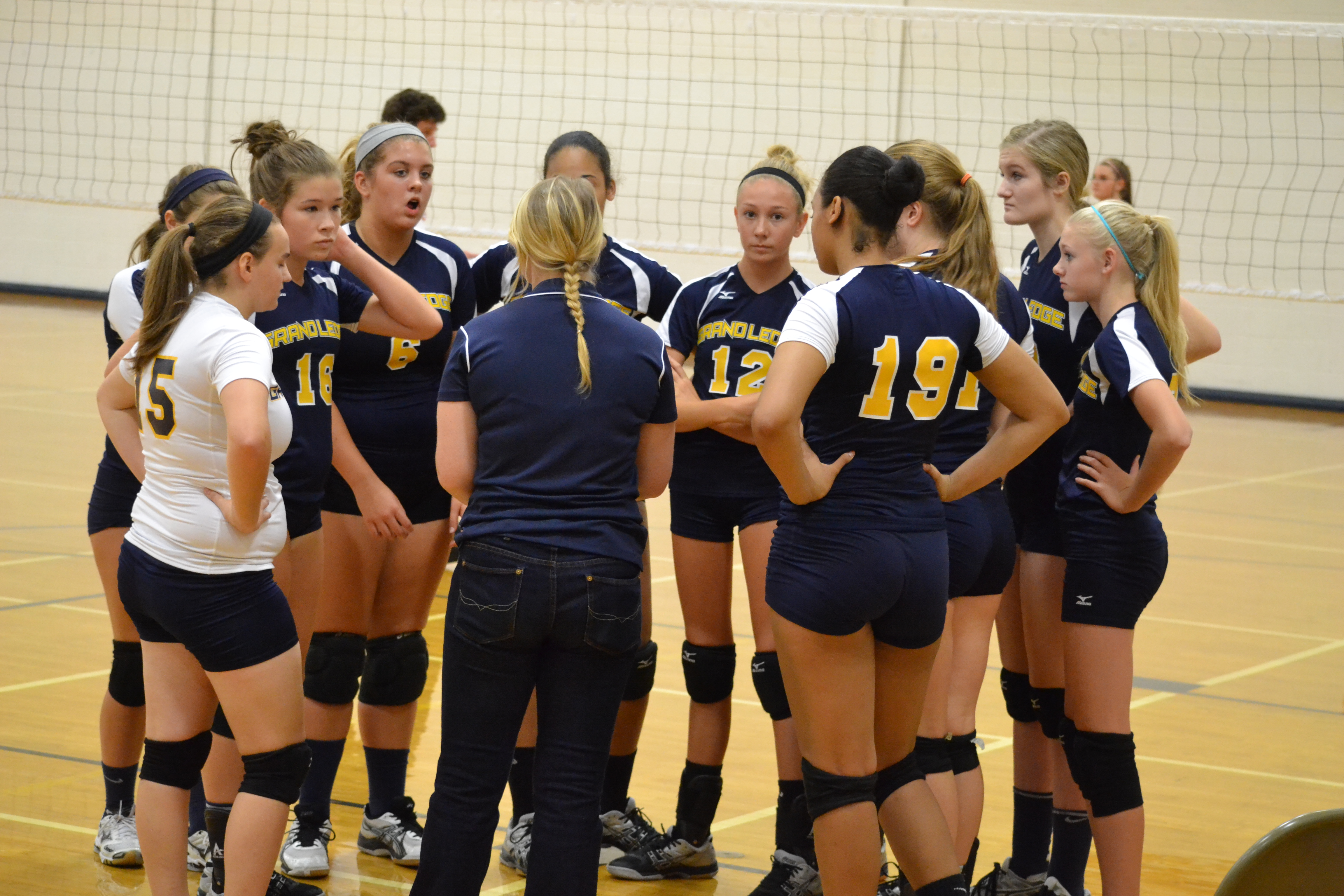 Volleyball Camp for 7th, 8th and 9th Grade Girls Scheduled for June 8-11