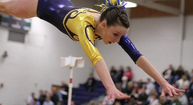 Comets Hit Season High to Capture CAAC Gymnastics Championship