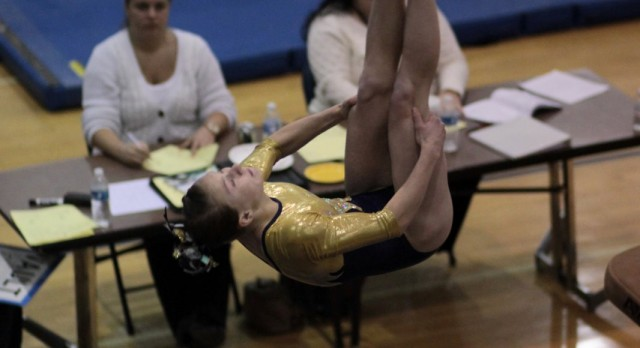 GLHS Students Admitted Free Tonight as Gymnastics Team Aims at 100 in a Row!