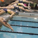 Girls Swim at Jackson