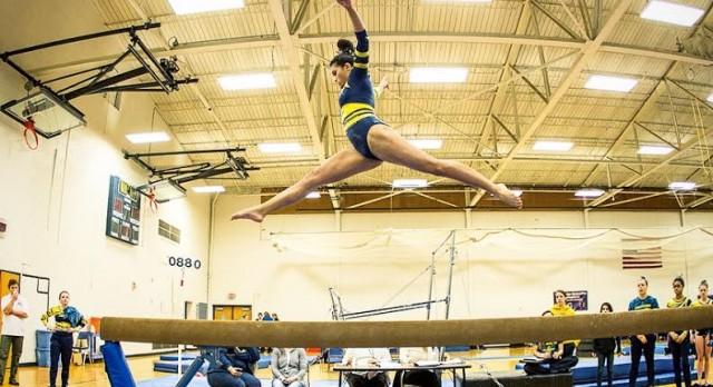 Comet Gymnasts 2nd at Kenowa Hills Invitational