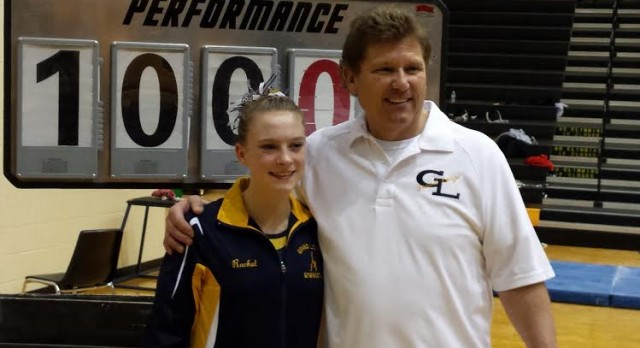 Rachel Hogan Scores a Perfect 10 to lead Comets to State Finals
