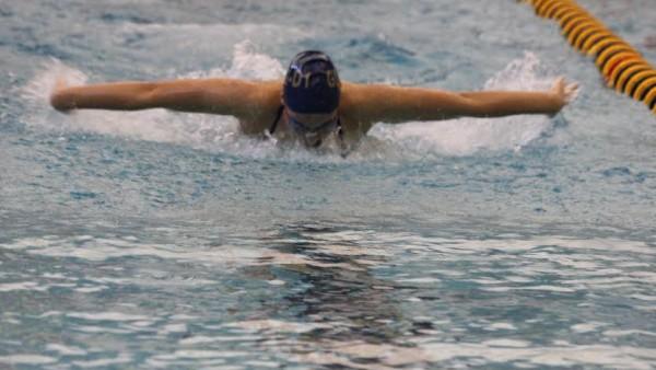 Girls Swim v DeWitt 6