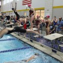Girls Swim CAAC Championship Meet