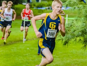 Cross Country Spartan Invite Christian Hubaker