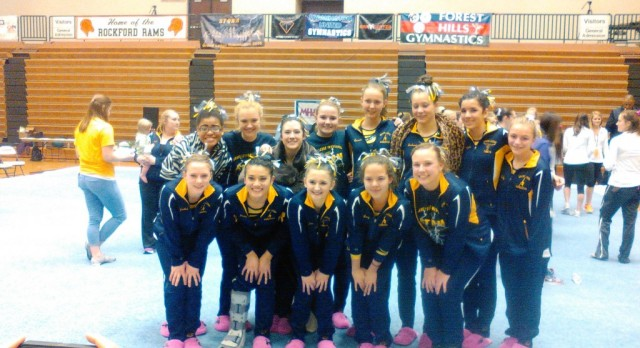 Comets Place 7th at MHSAA Team Gymnastics State Finals