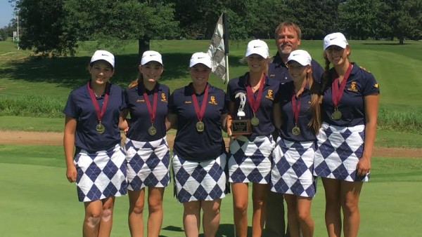 Girls Golf Portland Champs