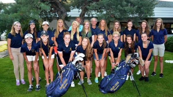 Girls Golf Team Picture