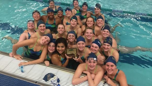 Girls Swim at Heritage