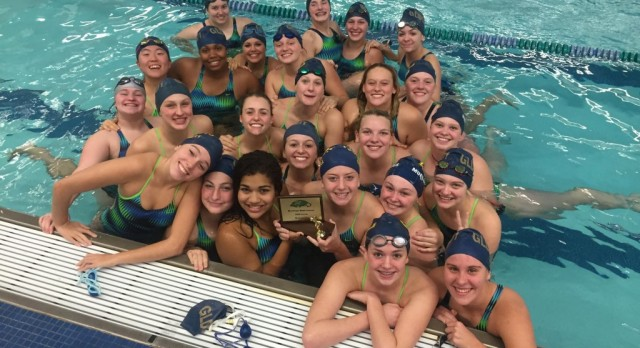 Comet Swimming & Diving Places 2nd at Saginaw Heritage Invitational