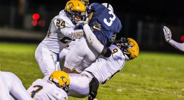 MHSAA Playoff Football – Grand Ledge at Grandville Friday – 7:00
