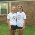 Cross Country - Jenna and Claudia