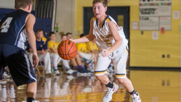 8th Grade Basketball B v EL 1
