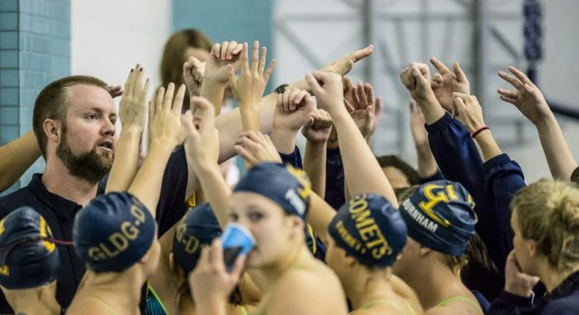 Girls Swim Team Competes at MHSAA Championship Meet This Weekend