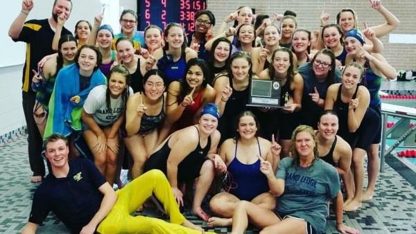 Girls Swim CAAC Champs