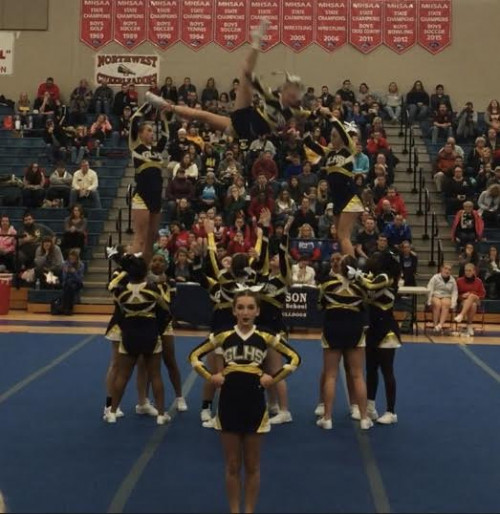 Cheer at CCCAM 1