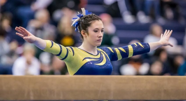 Gymnastics Team Heading to State Finals for 11th Straight Season