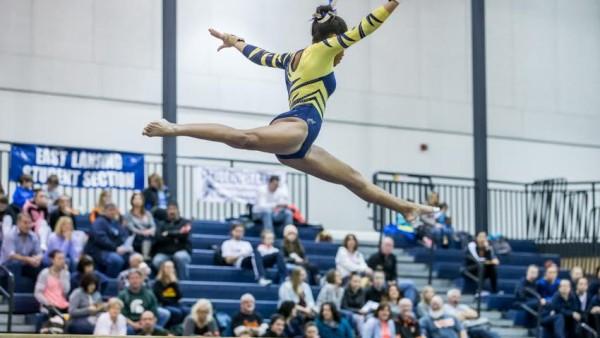 Gymnastics at EL Invite 22