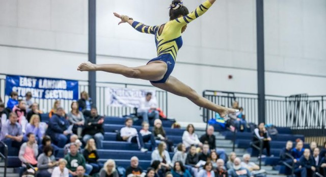 Comet Gymnastics Team Improves to 3-0 in CAAC