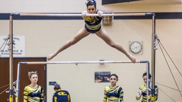 Gymnastics at EL Invite1
