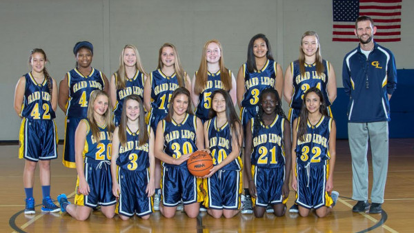 Freshman Girls Basketball Team Picture
