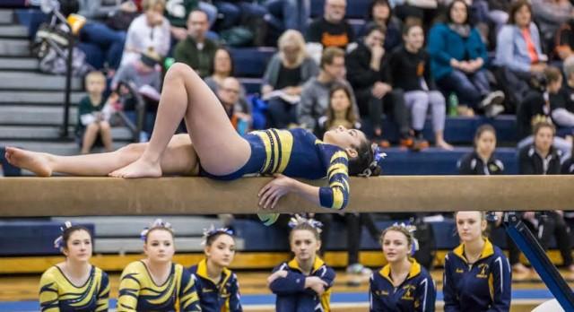 Gymnastics Team Competes at Prestigious Canton Invitational