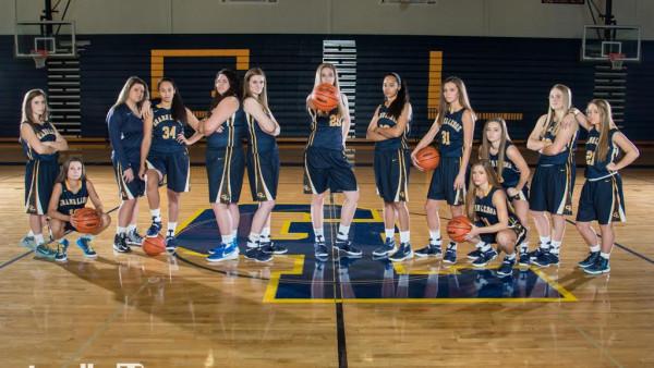 Varsity Girls Basketball Team Picture 1