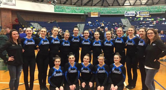 Pompon Teams Advance to State Competition
