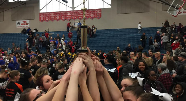 Record Setting Day for Comet Cheer at Mason Invitational