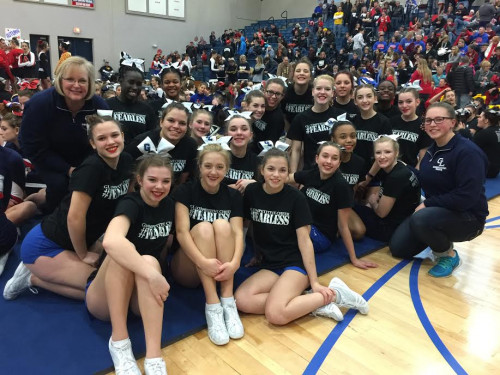 Cheer at Mason Invitational 2