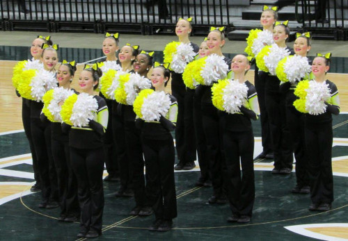 Grand Ledge Middle School Pom Team