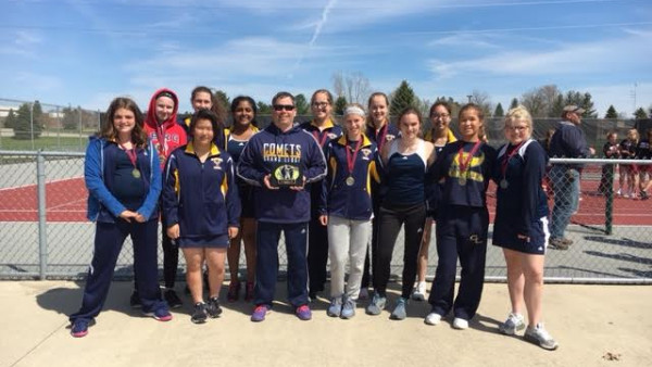 Girls JV Tennis - Portland Trophy