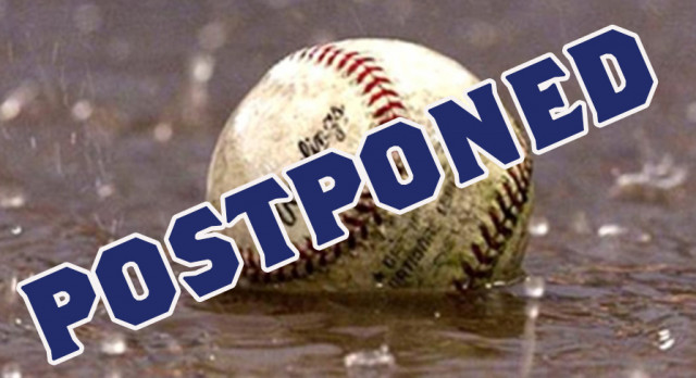 Youth Baseball Camp Postponed Due to Weather Today; Make Up is Monday from Noon to 3:00