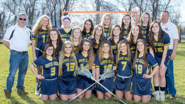 Varsity Girls Lacrosse Team Pic